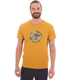 Mammut Logo T-Shirt Homme, golden PRT1